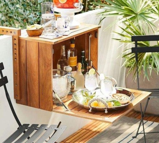Cool Apartment Balcony Design Ideas For Small Space 42