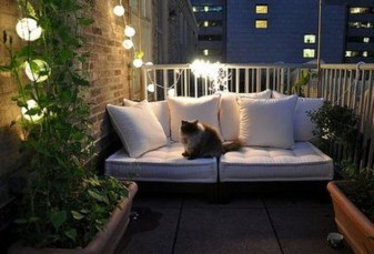Cool Apartment Balcony Design Ideas For Small Space 45