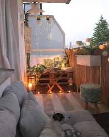 Cool Apartment Balcony Design Ideas For Small Space 51