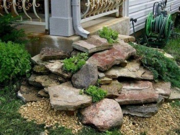 Cozy Rock Garden Landscaping Ideas For Make Your Yard Beautiful 03
