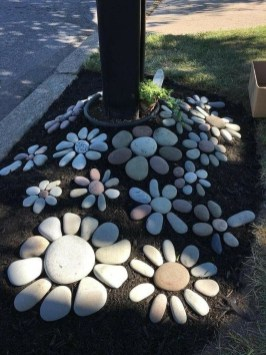 Cozy Rock Garden Landscaping Ideas For Make Your Yard Beautiful 23