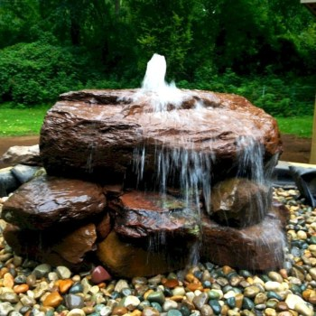 Cozy Rock Garden Landscaping Ideas For Make Your Yard Beautiful 32