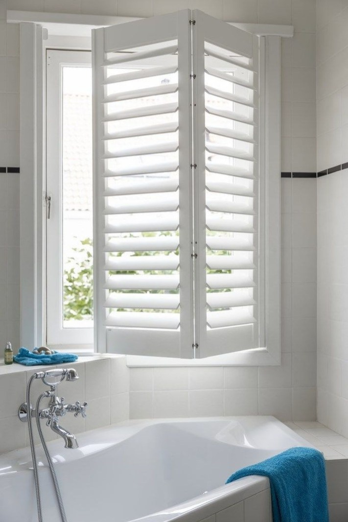 Enchanting Plantation Shutters Ideas That Perfect For Every Style 40