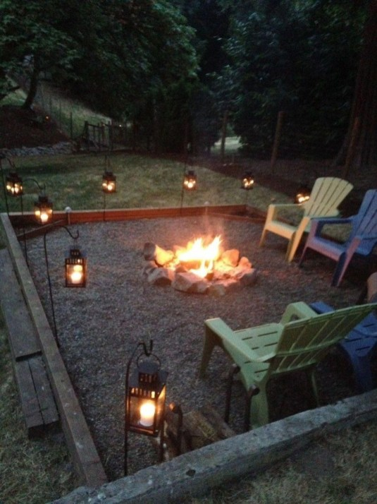 Modern Diy Firepit Ideas For Your Yard This Year 15
