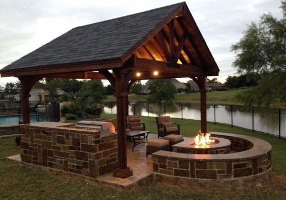 Modern Diy Firepit Ideas For Your Yard This Year 35