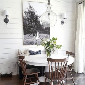 Relaxing Farmhouse Dining Room Design Ideas To Try 01
