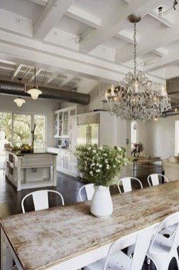 Relaxing Farmhouse Dining Room Design Ideas To Try 08