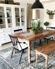 Relaxing Farmhouse Dining Room Design Ideas To Try 10
