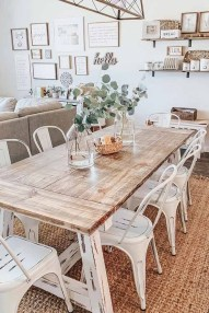 Relaxing Farmhouse Dining Room Design Ideas To Try 11