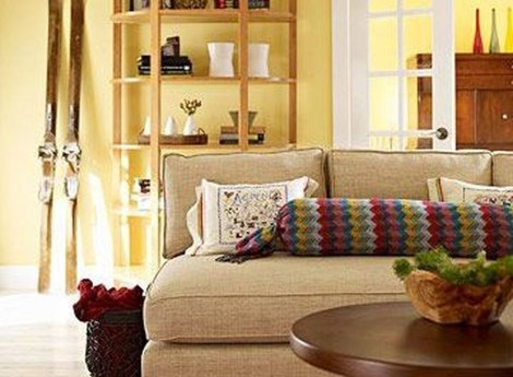 Superb Warm Family Room Design Ideas For This Winter 07