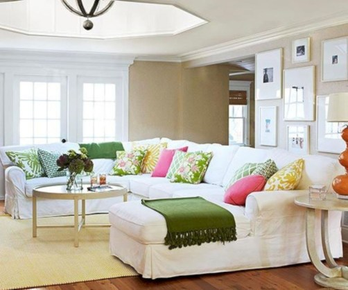 Superb Warm Family Room Design Ideas For This Winter 10