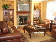 Superb Warm Family Room Design Ideas For This Winter 28