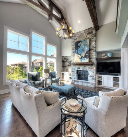 Superb Warm Family Room Design Ideas For This Winter 35