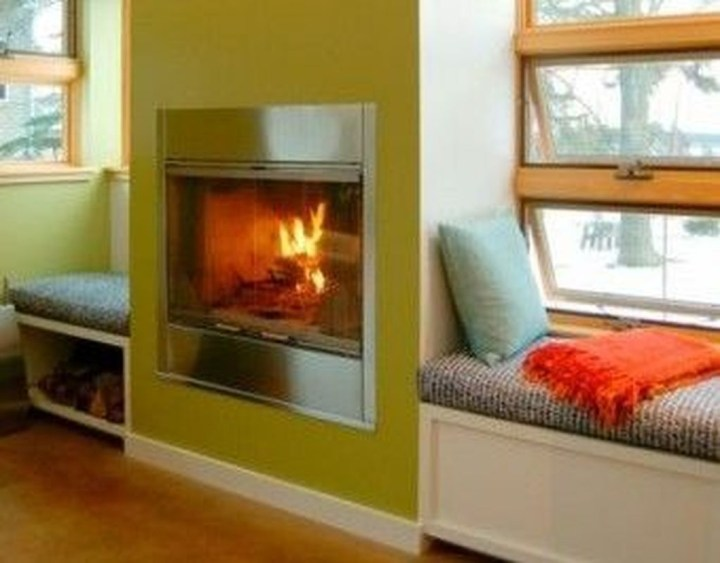 Superb Warm Family Room Design Ideas For This Winter 48