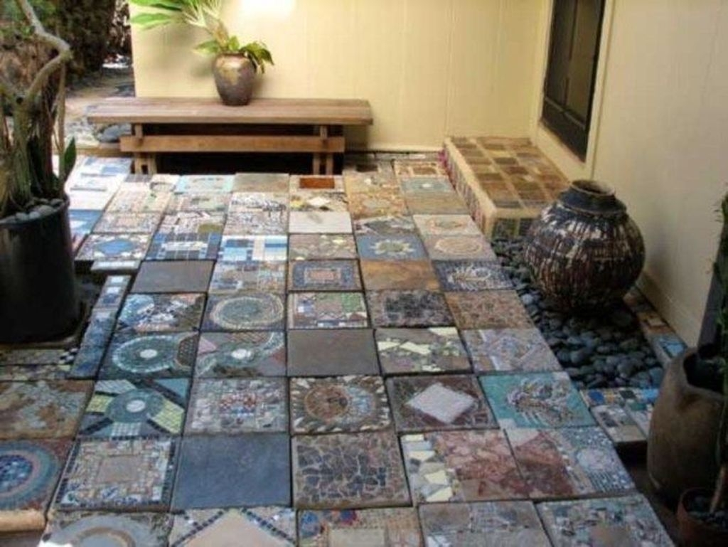 Unordinary Diy Pavement Molds Ideas For Garden Pathway To Try 24