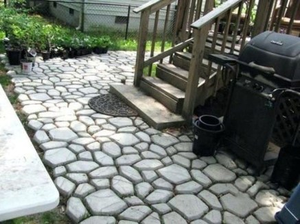 Unordinary Diy Pavement Molds Ideas For Garden Pathway To Try 46