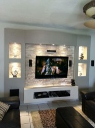 Unordinary Tv Stand Design Ideas For Small Living Room 10