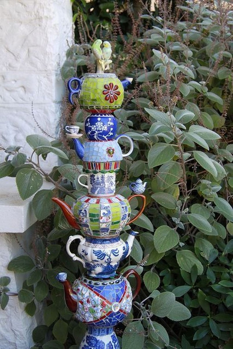 Amazing Diy Mosaic Decorations Ideas To Inspire Your Own Garden 16