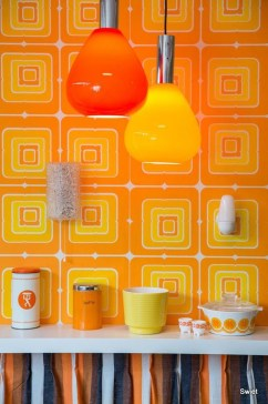 Awesome Retro Wallpaper Decor Ideas To Try 08
