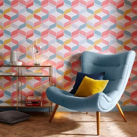 Awesome Retro Wallpaper Decor Ideas To Try 31