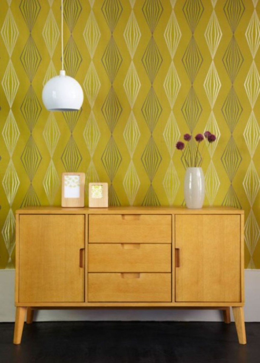 Awesome Retro Wallpaper Decor Ideas To Try 35