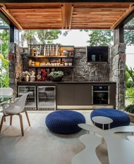 Comfy Kitchen Balcony Design Ideas That Looks Cool 30