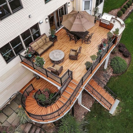 Comfy Kitchen Balcony Design Ideas That Looks Cool 41