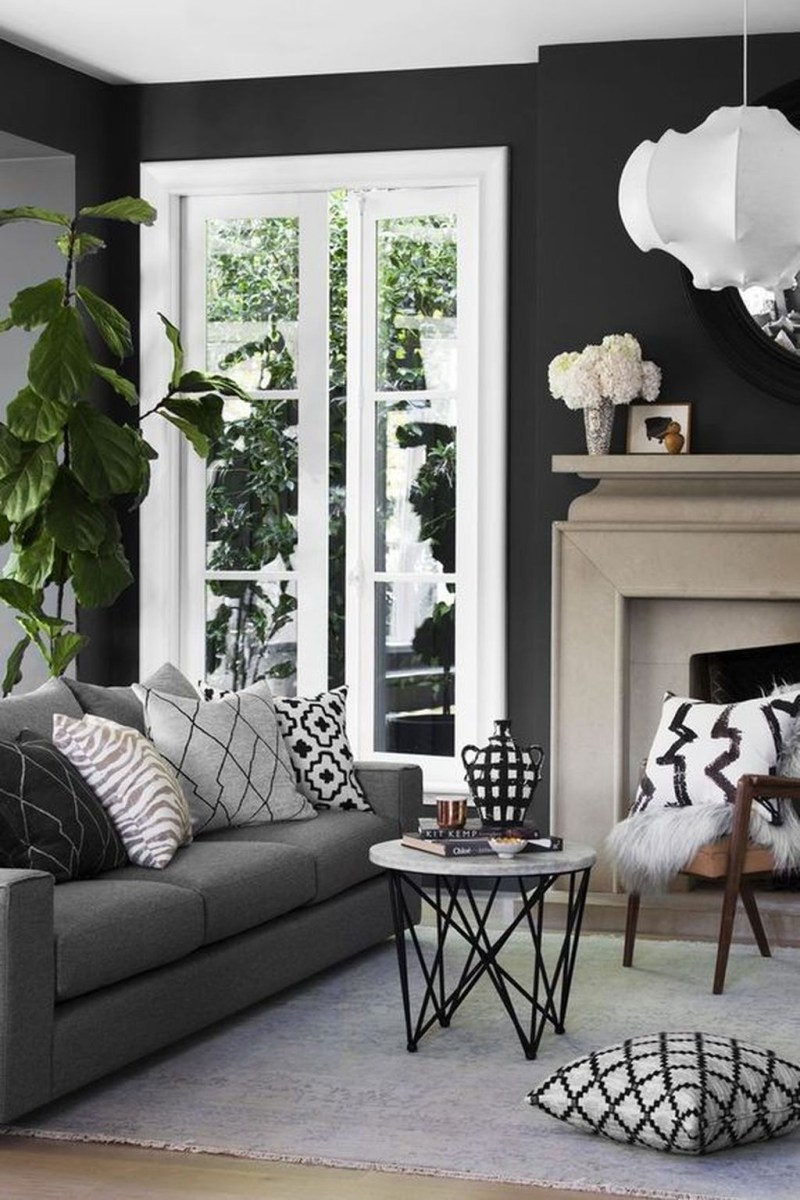 Cozy Masculine Living Room Design Ideas To Try 09