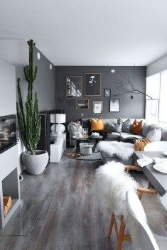 Cozy Masculine Living Room Design Ideas To Try 15