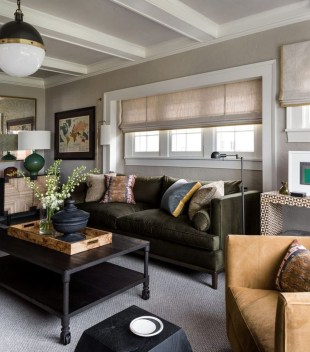 Cozy Masculine Living Room Design Ideas To Try 16