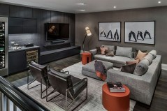 Cozy Masculine Living Room Design Ideas To Try 30