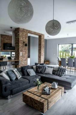 Cozy Masculine Living Room Design Ideas To Try 39