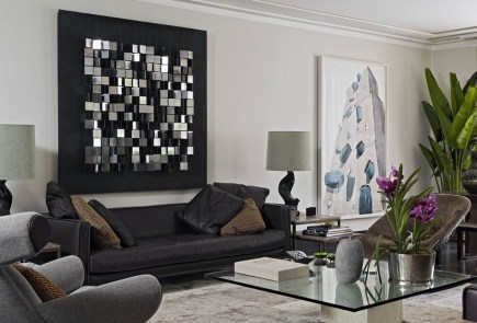 Cozy Masculine Living Room Design Ideas To Try 48