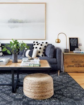 Cozy Masculine Living Room Design Ideas To Try 49