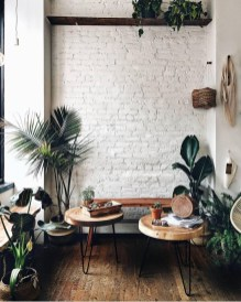 Delicate Exposed Brick Wall Ideas For Interior Home Design 03