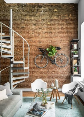 Delicate Exposed Brick Wall Ideas For Interior Home Design 25
