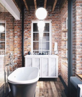 Delicate Exposed Brick Wall Ideas For Interior Home Design 36