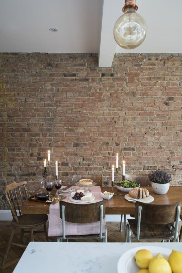 Delicate Exposed Brick Wall Ideas For Interior Home Design 39