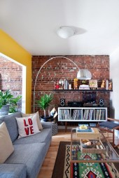 Delicate Exposed Brick Wall Ideas For Interior Home Design 45
