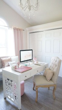 Delightful Home Office Design Ideas For Women 08