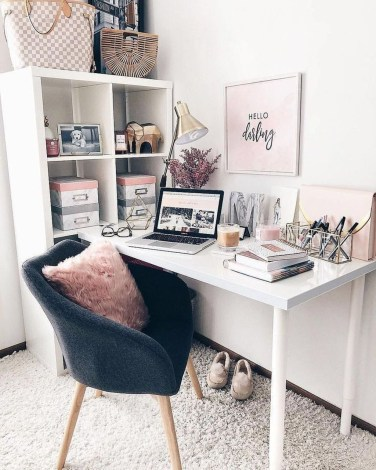 Delightful Home Office Design Ideas For Women 43