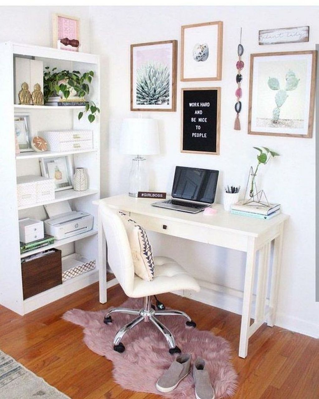 Delightful Home Office Design Ideas For Women 54