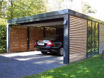 Graceful Car Garage Design Ideas For Your Home 29