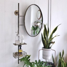 Newest Bathroom Mirror Decor Ideas To Try 38