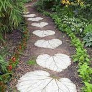 Popular Garden Path And Walkway Ideas To Your Outdoor Space 01