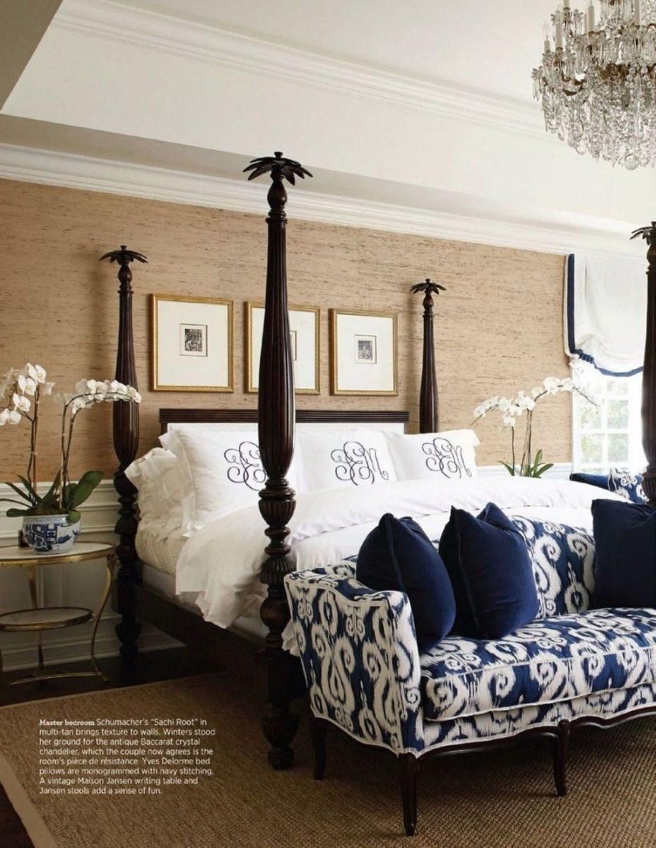 Top Blue Master Bedroom Design Ideas That Looks Great 30