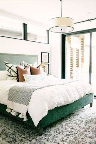 Top Blue Master Bedroom Design Ideas That Looks Great 38