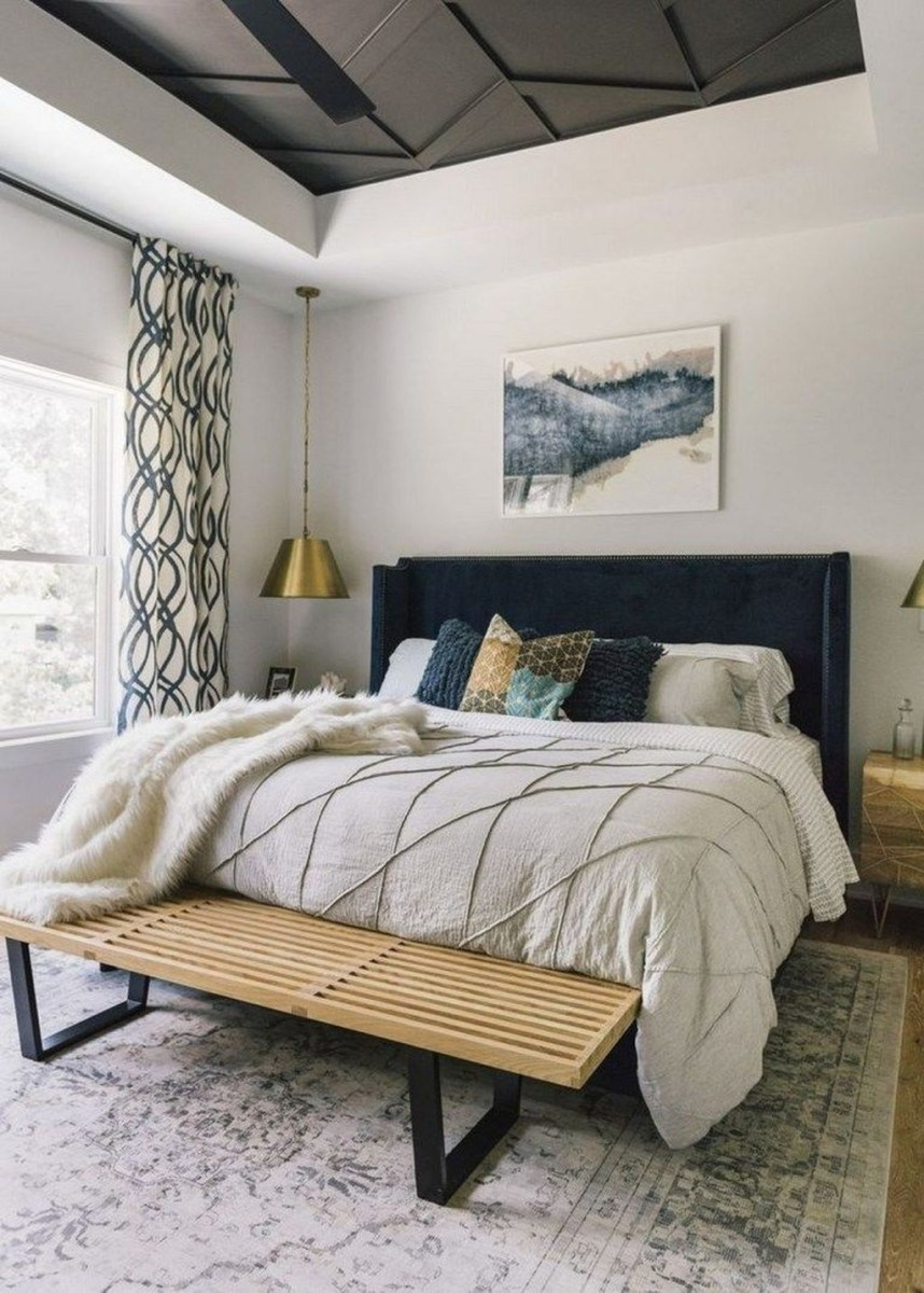 Top Blue Master Bedroom Design Ideas That Looks Great 45