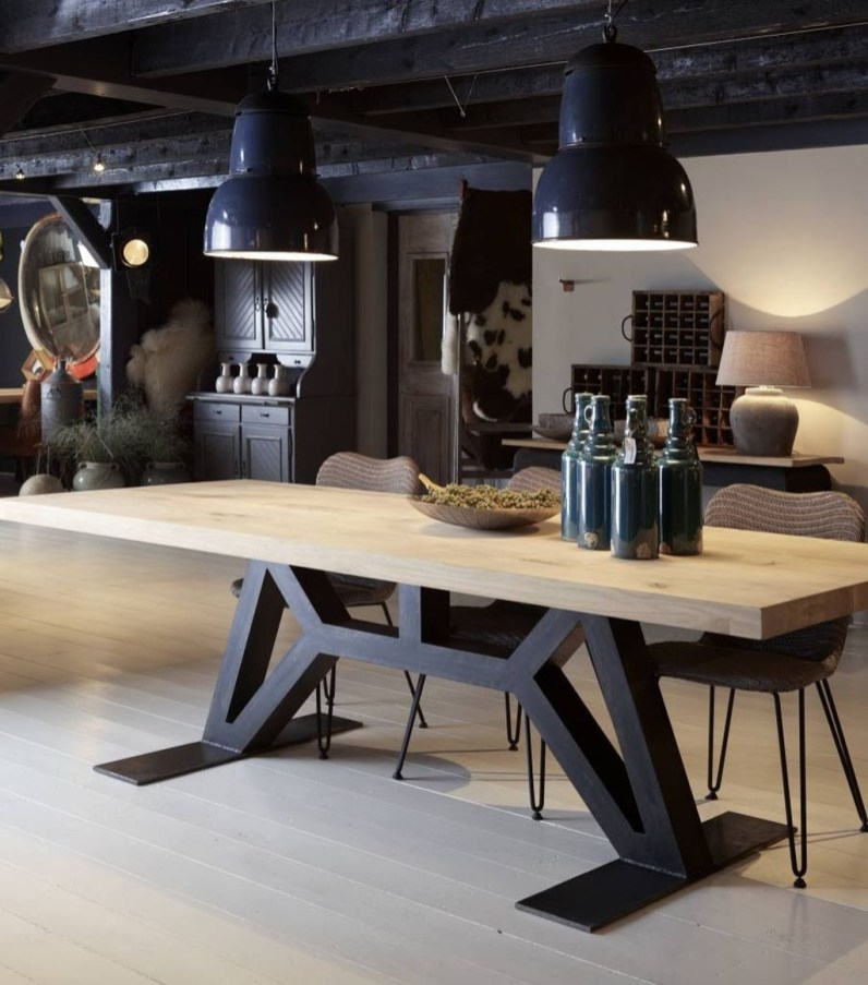 Trendy Wood Industrial Furniture Design Ideas To Try 13