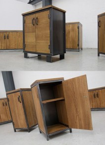 Trendy Wood Industrial Furniture Design Ideas To Try 15